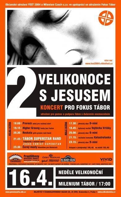 Plakát - Velikonoce s Jesusem 2006
