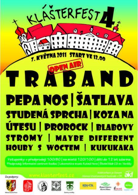 Plakat Klasterfest 2011