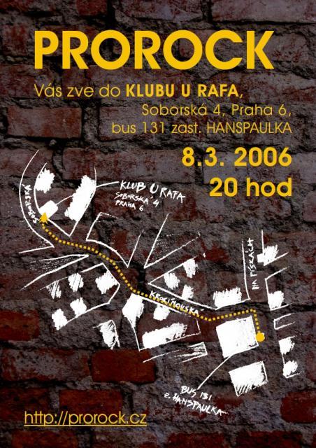 Plakát - U Rafa 2006