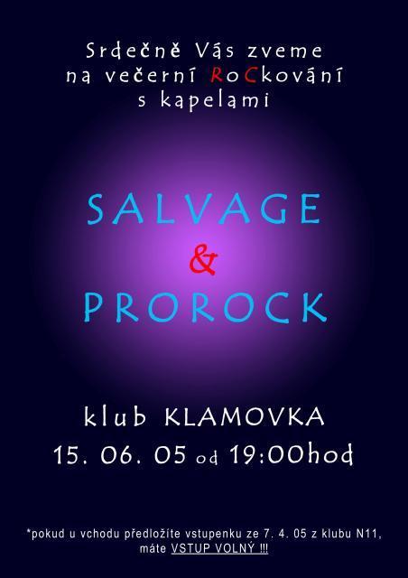 Plakát - Klamovka - červen 2005